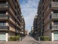 france, region ile de france, paris 12e arrondissement, bercy, rue george gershwin, immeubles, rives symetriques,