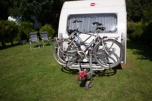france, region haute normandie, eure, fiquefleur equainville, camping la catinière, caravane, ,