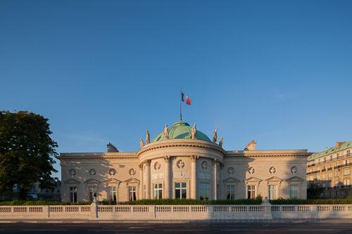 france, région ile de france, paris 7e arrondissement, quai anatole france, rue de lille, hotel de salm, grande chancellerie de la legion d'honneur,