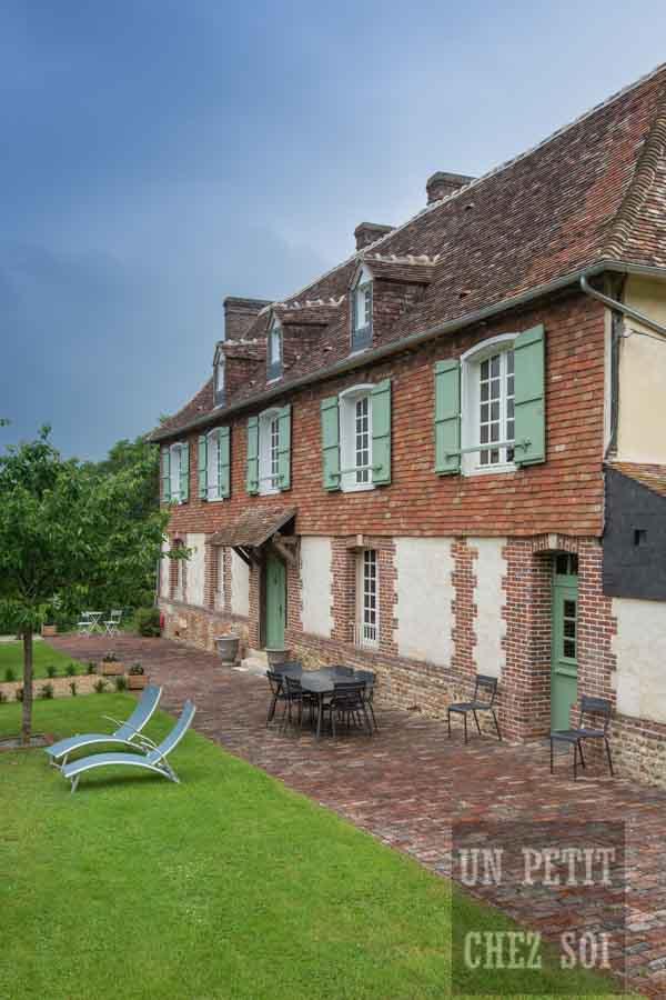 france, region normandie, calvados, pays d auge, la chapelle haute grue, Manoir des Tourneurs,