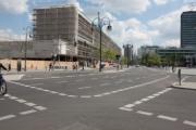 allemagne (germany), berlin, charlottensburg, immeubles, urbanisme, marquege au sol, signaletique, signes de ville ,