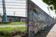 allemagne (germany), berlin, prenzauerberg, mauer park, vestiges du mur de berlin, jardin public,