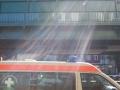 allemagne (germany), berlin, prenzlauerberg, metro s bahn, transport urbain, ambulance
