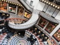 germany, allemagne, berlin, mitte, friedrich-stadtpassagen, centre commercial, architecture, galeries lafayette par jean nouvel,