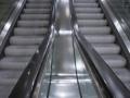 allemagne (germany), berlin, porte de brandebourg, friederichstrasse, station de metro, u bahn, escalator,