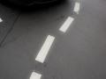 allemagne (germany), berlin,, avenue remontant vers alexanderplatz, karl liebknecht strasse, ligne pointillée irreguliere,