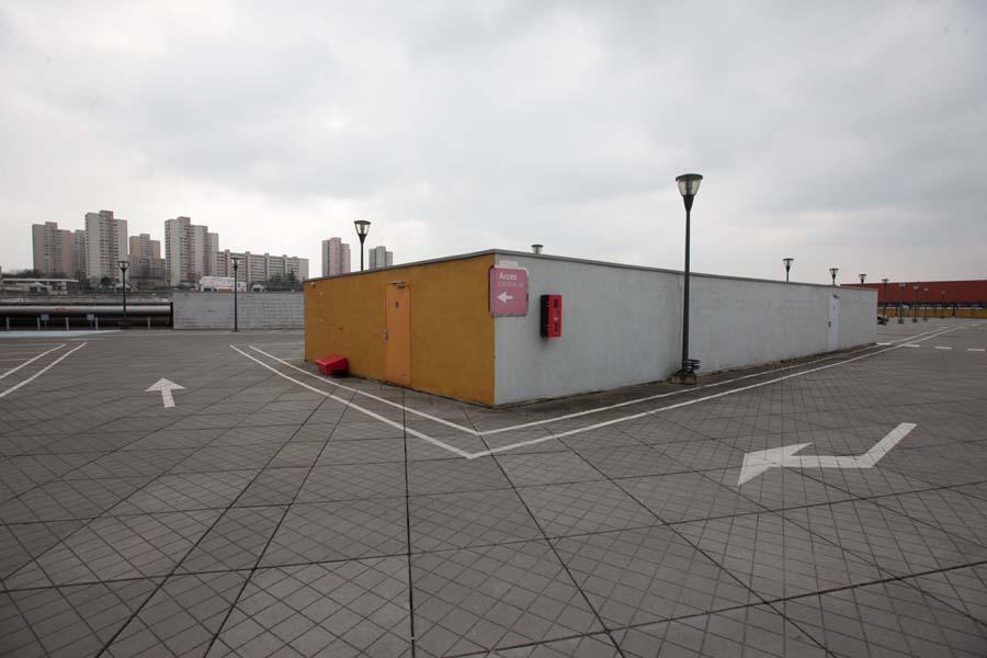 france, region ile de france, rosny sous bois, centre commercial Domus, parking, accessite, stationnement,