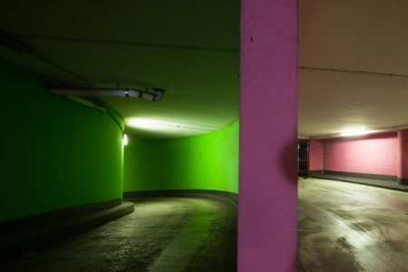 france, region ile de france, val de marne, thiais, centre commercial thiais village, parking souterrain, signes de ville,
